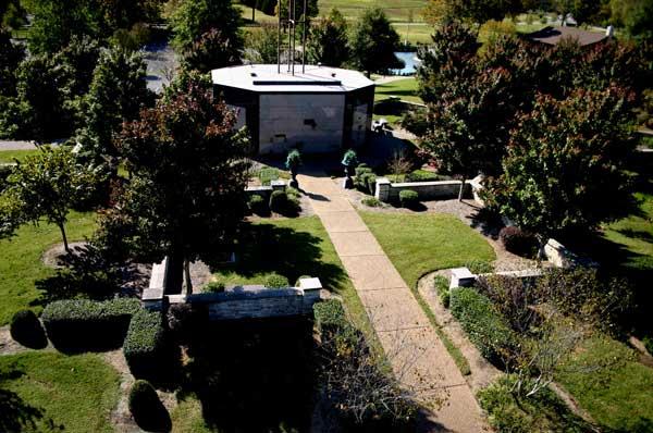 The Bell Tower mausoleum